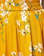 Image 3 of Warehouse Yellow Floral Skirt
