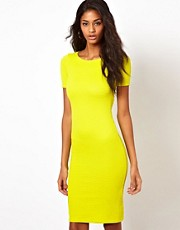 Oh My Love Textured Midi Dress