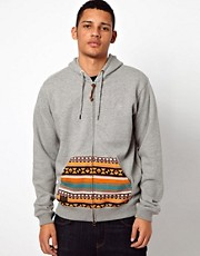 10 Deep Hooded Sweatshirt Native Pocket
