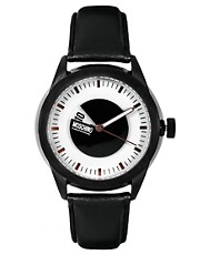 Moschino Leather Strap Watch MW0340