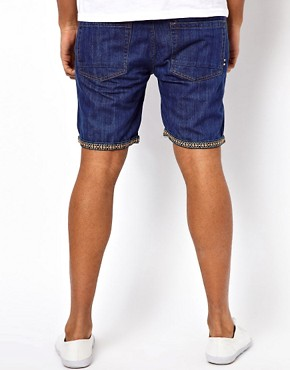 Image 2 ofBellfield Denim Shorts With Turn Up