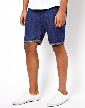 Image 1 ofBellfield Denim Shorts With Turn Up