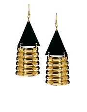 Yasmin By Gogo Philip Arrowhead Drop Earrings
