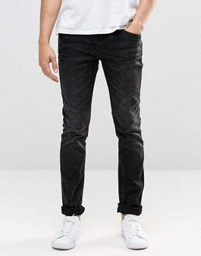 Blend Jeans Cirrus Skinny Fit Stretch in Washed Black