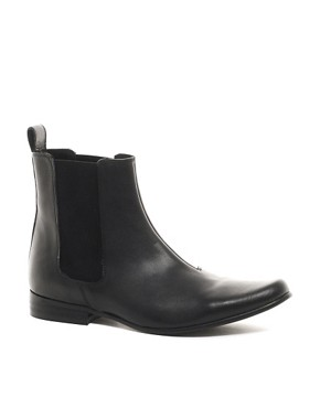 Image 1 ofASOS Chelsea Boots in Leather