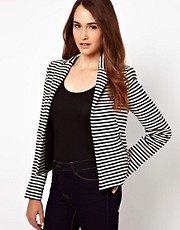 Warehouse Stripe Tailored Blazer