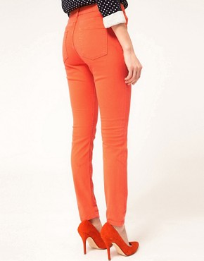Image 2 ofWhistles Skinny Jeans With Roll Up Detail