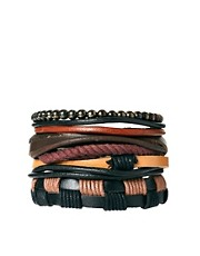 River Island Leather Bracelet