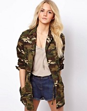 ASOS - Parka mimetico in stile militare