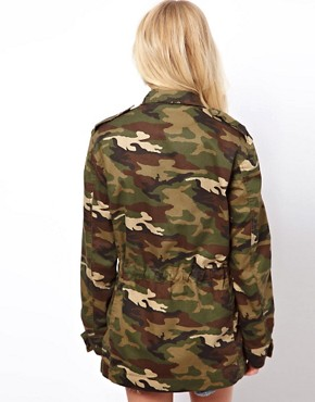 Image 2 ofASOS Camo Army Parka