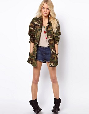 Image 4 ofASOS Camo Army Parka