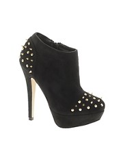 ASOS TRIUMPH Studded Platform Shoe Boots