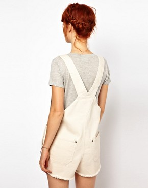 Image 2 ofGanni Dungarees in Canvas