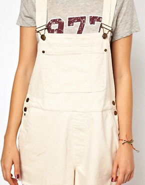 Image 3 ofGanni Dungarees in Canvas