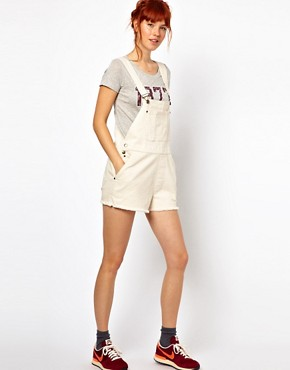 Image 4 ofGanni Dungarees in Canvas