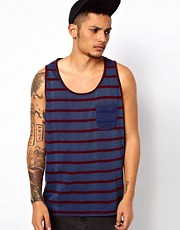 Elvine Vest Acid Stripe