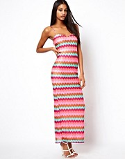 ASOS Zig Zag Maxi Dress