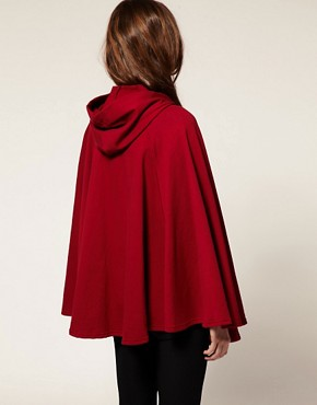 Image 2 ofAmerican Apparel Fleece Cape