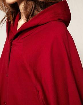 Image 3 ofAmerican Apparel Fleece Cape