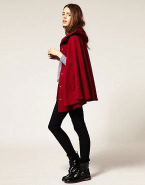 Image 4 ofAmerican Apparel Fleece Cape