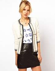 ASOS Studded Knit Trophy Jacket