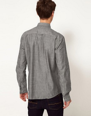 Image 2 ofSelected Chambray Shirt
