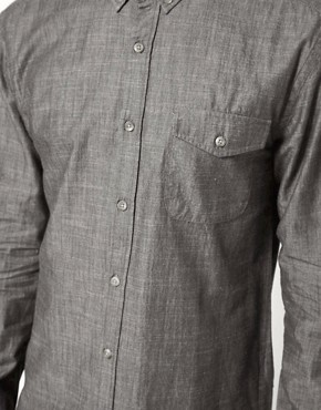 Image 3 ofSelected Chambray Shirt