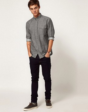 Image 4 ofSelected Chambray Shirt