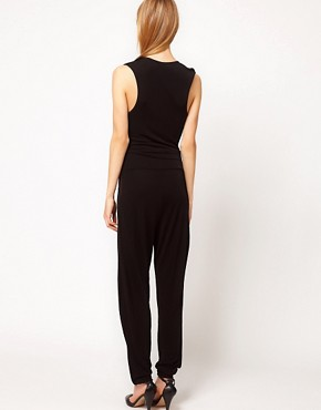 Image 2 ofKore by Sophia Kokosalaki Flower Motif Trim Jumpsuit