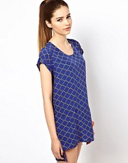 Olivia Rubin Chain Print Tunic Dress