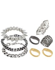 ASOS Rock Ring &amp; Bracelet Multipack