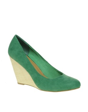 Image 1 ofASOS SUNRISE Wedge Court Shoes
