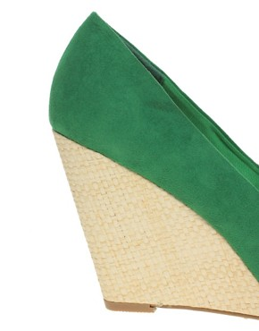 Image 2 ofASOS SUNRISE Wedge Court Shoes
