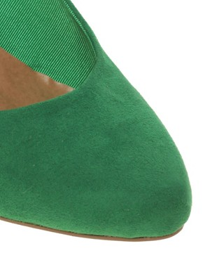 Image 3 ofASOS SUNRISE Wedge Court Shoes