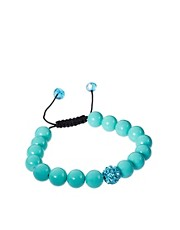 Adele Marie Turquoise Bead Bracelet
