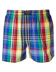Polo Ralph Lauren &ndash; Boxershorts aus kariertem Gewebe