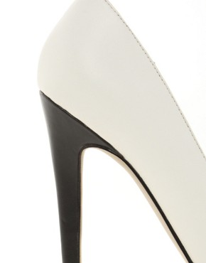 Image 2 of ASOS PROPER Pointed Court Shoes In Colour Block