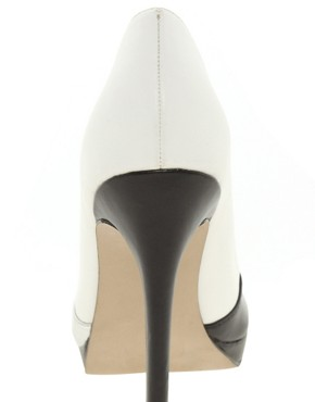 Image 3 of ASOS PROPER Pointed Court Shoes In Colour Block