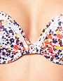 Image 3 ofMarie Meili Ditsy Floral Push Up Bra