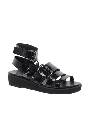 Image 1 ofASOS FLASHBACK Flatforms