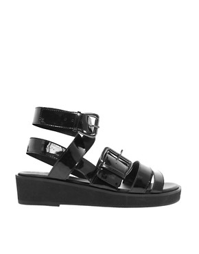 Image 4 ofASOS FLASHBACK Flatforms