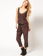 Miss Sixty Silk Cringle Jumpsuit