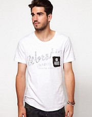 Denham - T-shirt con taschino
