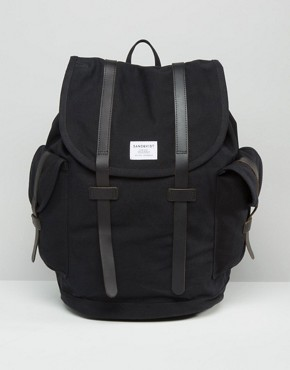 Sandqvist Vidar Backpack In Black