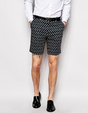 ASOS Slim Fit Shorts In Print