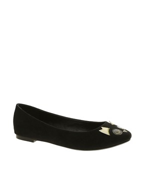 Image 1 ofASOS LARRY Ballet Flats