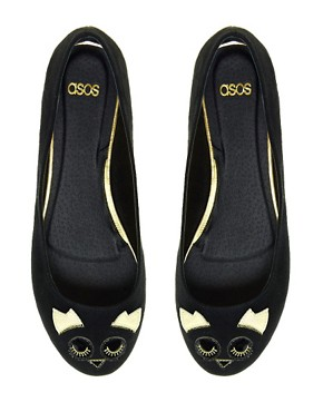 Image 2 ofASOS LARRY Ballet Flats