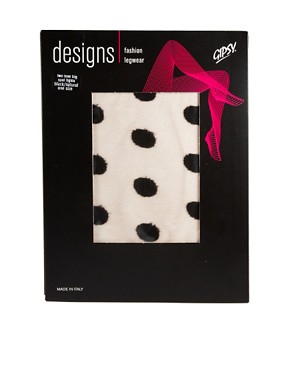 Image 3 ofGipsy Two Tone Spot Tights