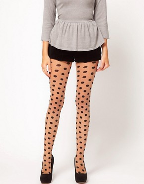 Image 1 ofGipsy Two Tone Spot Tights