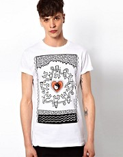 New Love Club T-Shirt Tribal